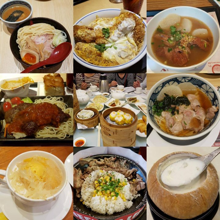 Food in Hong Kong 2017