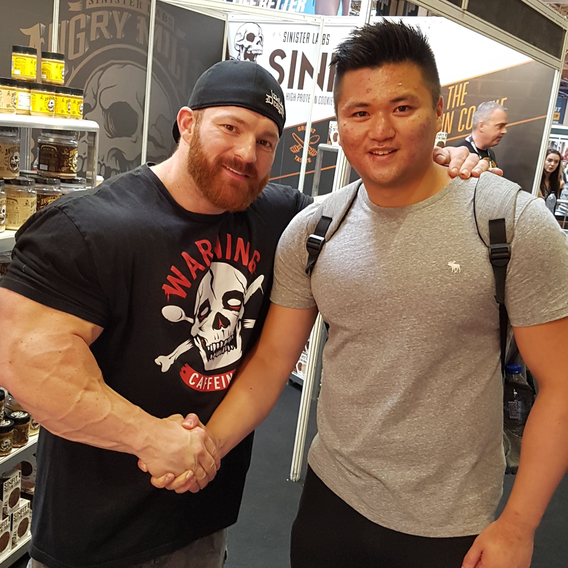 Bodypower 2018 and The Apprentice